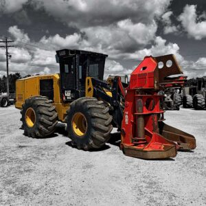 2014 Cat 563C Feller Buncher